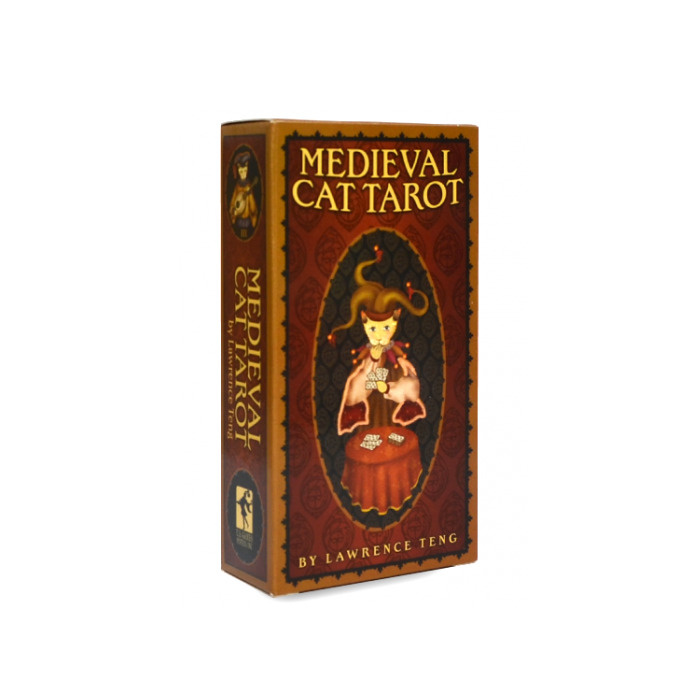 Карты Таро Tarot cards Medieval Cat/Средневековое таро Кошек - USG #1