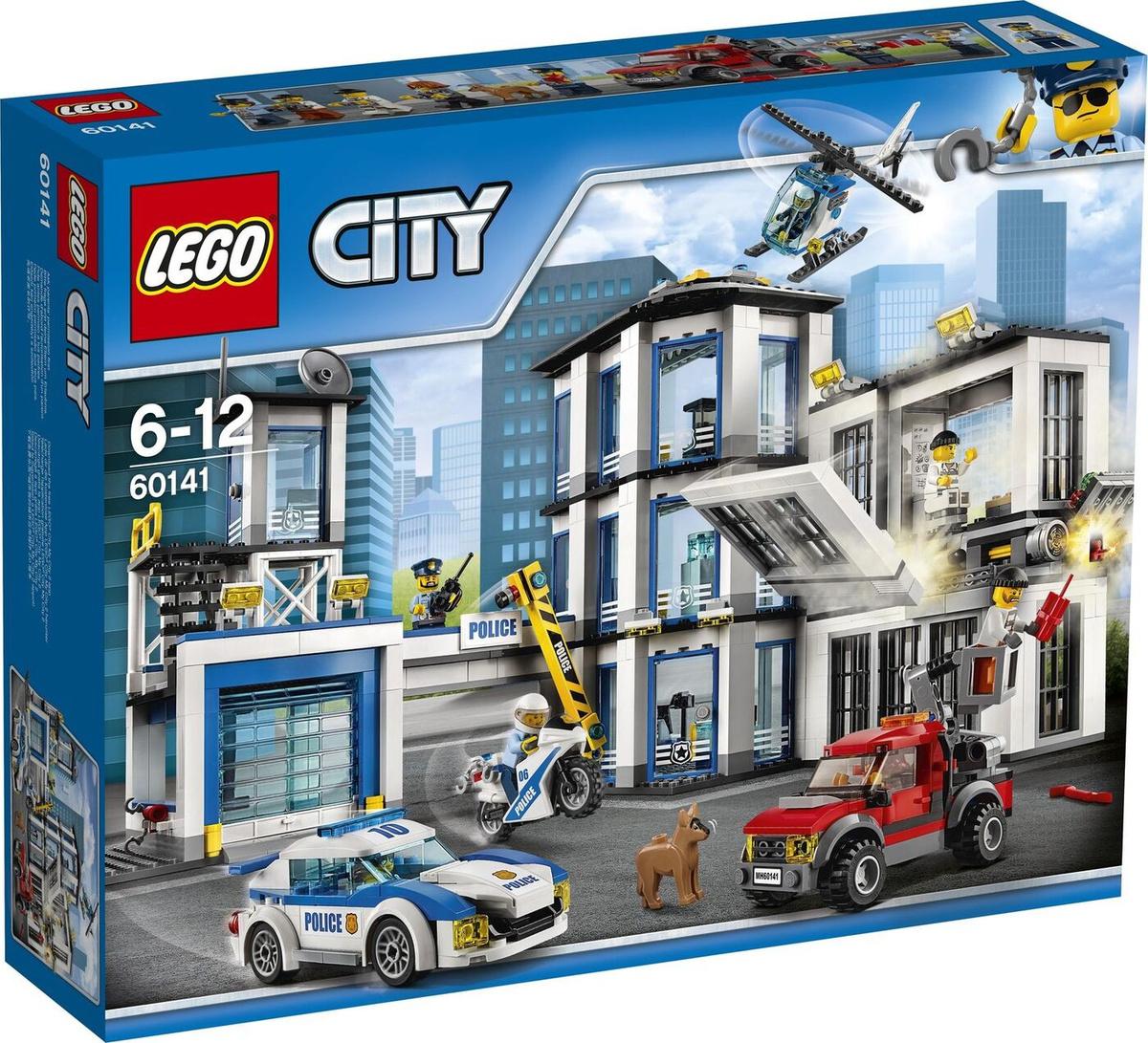 Конструктор LEGO City 60141 Полицейский участок #1