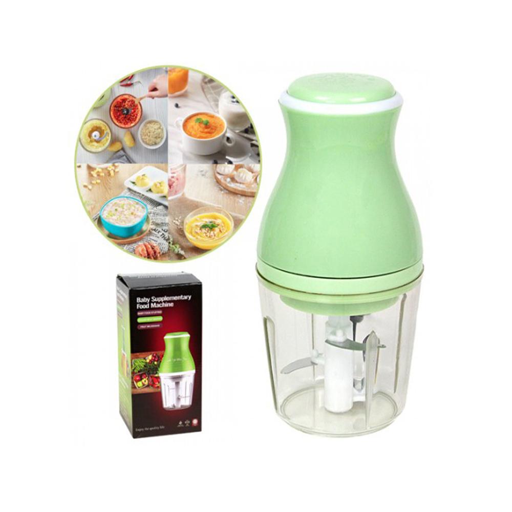 Портативный блендер Baby Supplementary Food Machine, зеленый #1