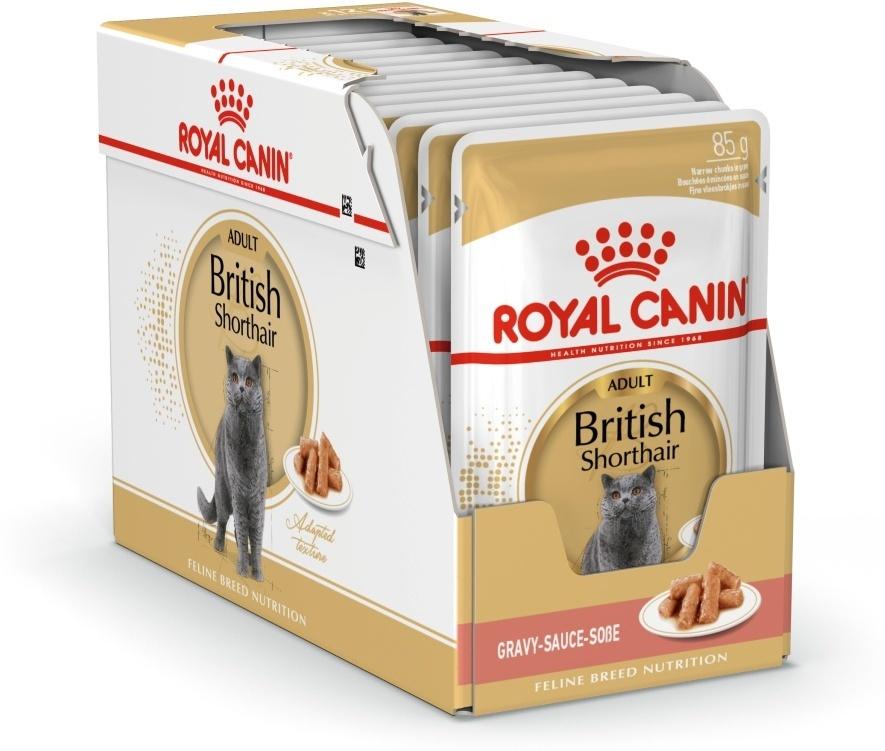 """Консервы Royal Canin """"British Shorthair Adult"""", для кошек британской породы старше 12 месяцев, мелкие #1"""