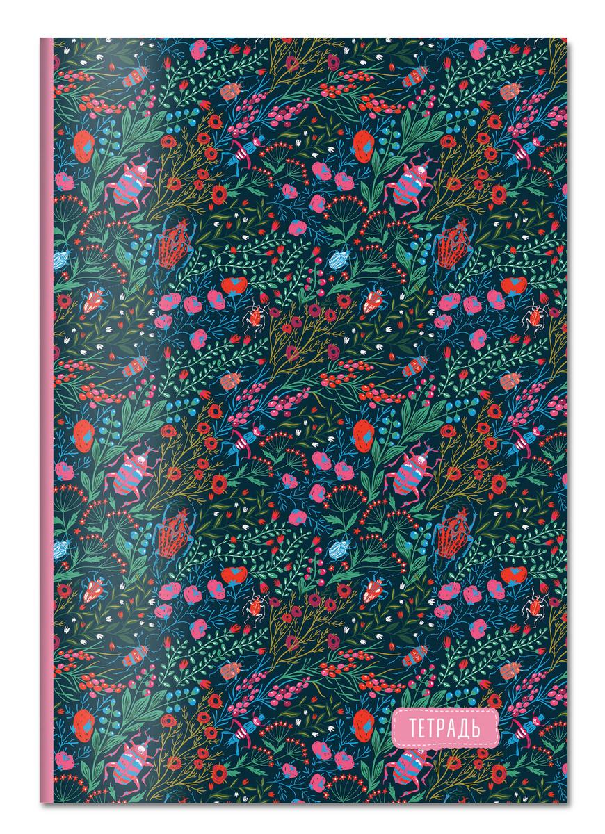 Тетрадь для записей. Маковое поле, A4, мягкая обложка, 48 л.   Нет автора  #1