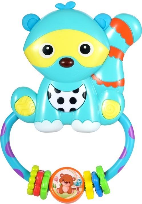Жирафики Развивающая игрушка Енот с зеркальцем и светом  #1