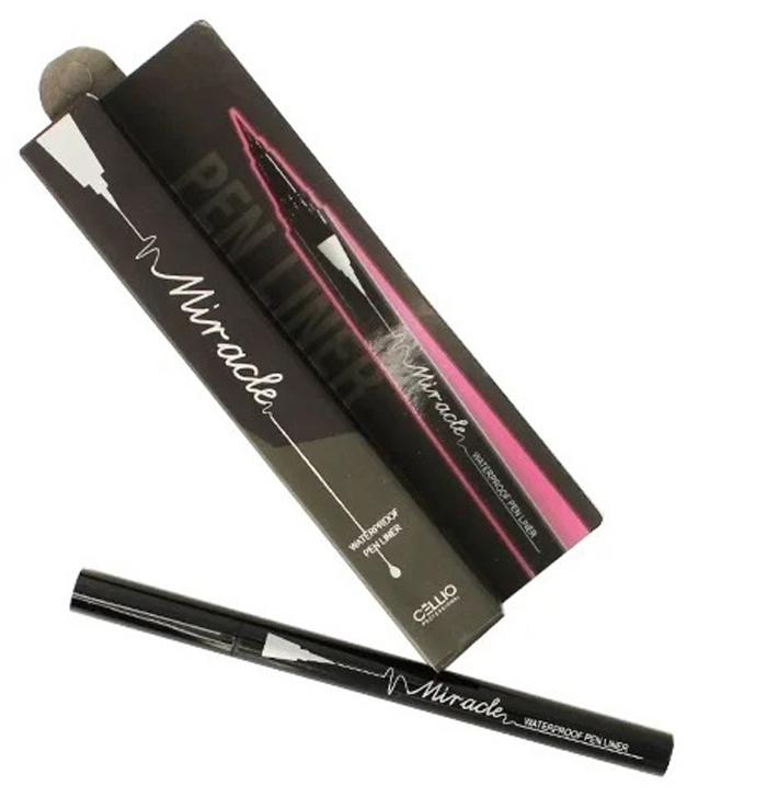 Cellio Подводка для глаз Miracle Waterproof Pen Liner #1