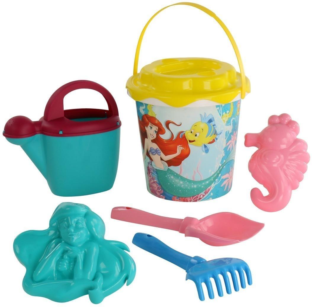 Disney Набор игрушек для песочницы Русалочка №4, 6 предметов, цвет в ассортименте  #1