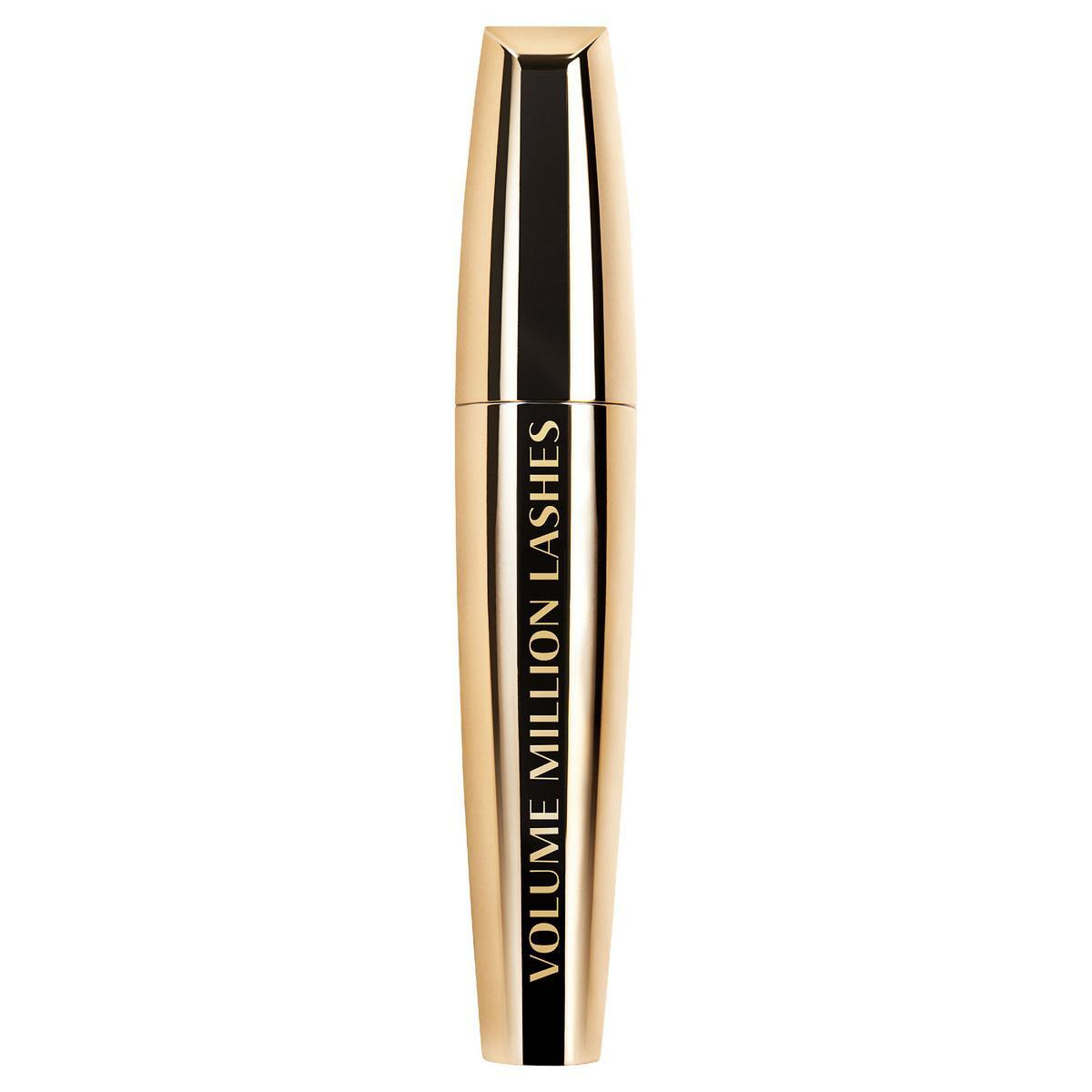 """Тушь для ресниц L'Oreal Paris """"Объем миллиона ресниц Gold"""", для объема и разделения, оттенок 04, цвет: #1"""