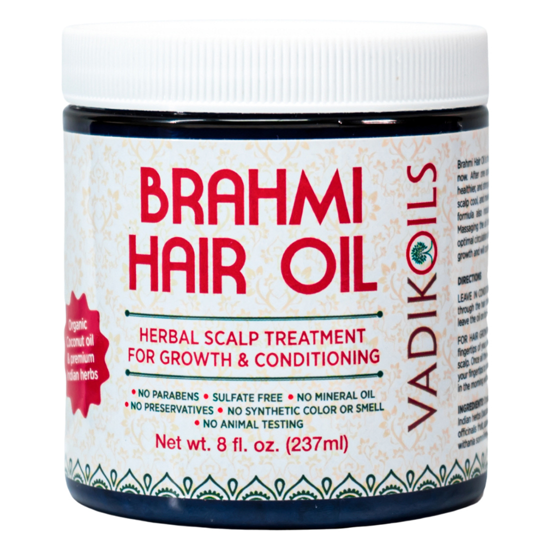 Vadik Herbs Масло для волос Брахми Brahmi hair oil  #1