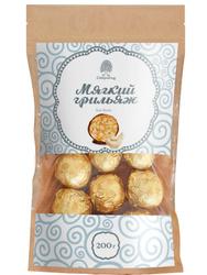 Мягкий грильяж из кешью 200г Сибирский кедр / конфеты шоколадные / подарок мужчине, маме, папе, любимой, подруге, бабушке, коллеге, учителю. Лучшие товары