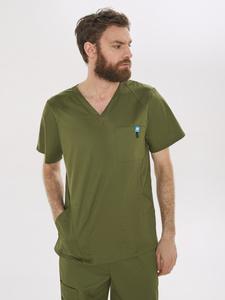 Рубашка медицинская мужская Medcostume. Вместе дешевле!