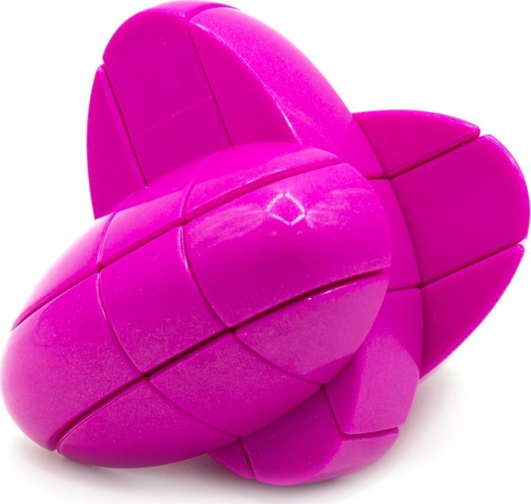 Головоломка Сердце Кубик Сердечко Yj Love Cube розовый