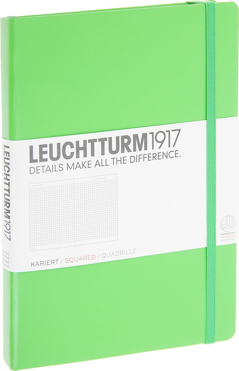 Записная книжка Leuchtturm1917, 357489, светло-зеленый, A5 (148 x 210 мм), в точку, 125 листов