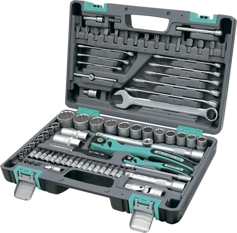 цена на Набор ручного инструмента STELS 14117