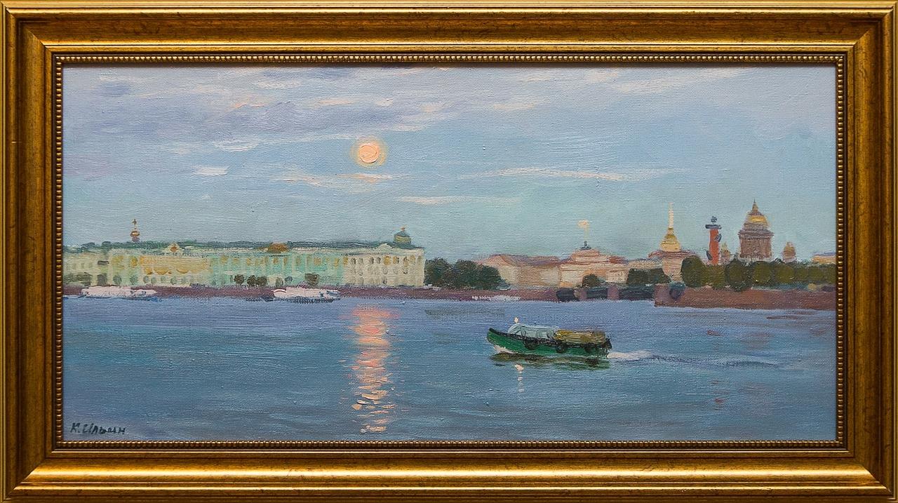 Картина маслом Белые ночи Ильин картина маслом утро ильин