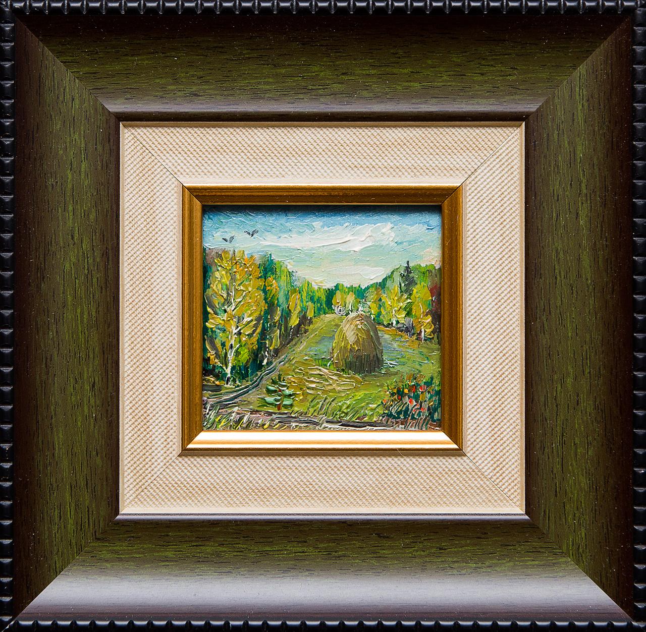 Картина маслом В лесу Мифтахов картина маслом подсолнухи мифтахов