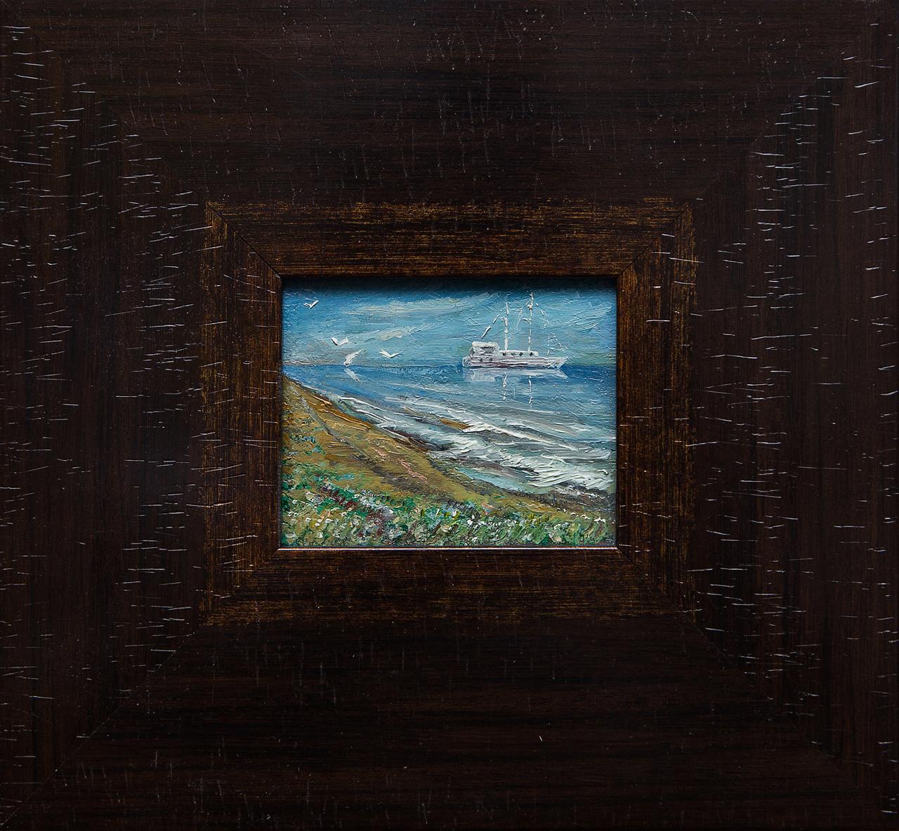 Картина маслом Пейзаж Мифтахов картина маслом подсолнухи мифтахов