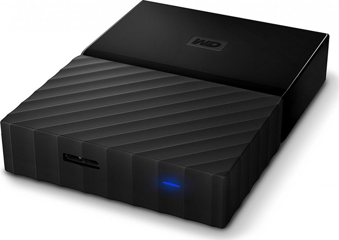 Внешний жесткий диск 4Tb Western Digital My Passport for PS4 Black, WDBZGE0040BBK все цены