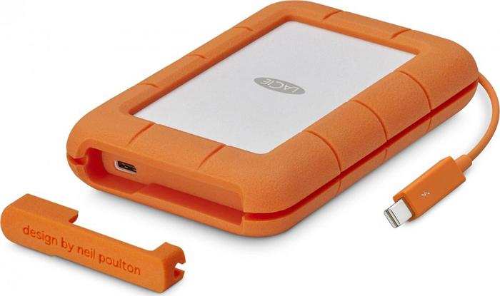 Твердотельный накопитель 500Gb SSD LaCie Rugged Thunderbolt USB-С, STFS500400 внешний hdd накопитель lacie stet1000400