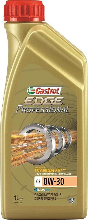 Моторное масло CASTROL EDGE Professional V Titanium FST, синтетическое, 0W-20, 1 л 156E6A