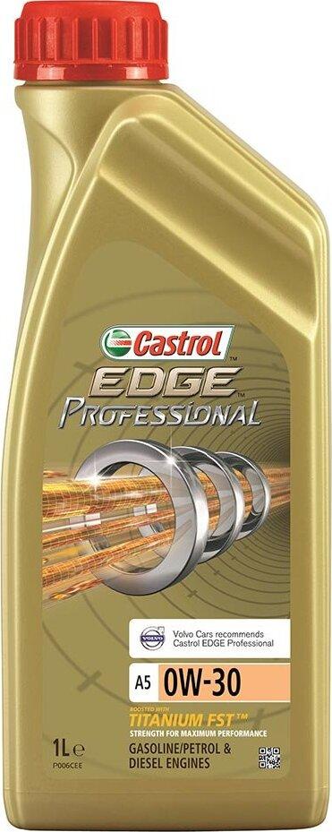 Моторное масло CASTROL EDGE Professional A5 Volvo Titanium FST, синтетическое, 0W-30, 1 л 156EA7