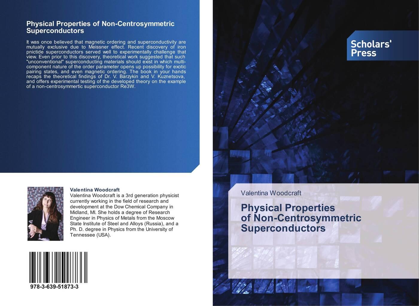 цены на Valentina Woodcraft Physical Properties of Non-Centrosymmetric Superconductors  в интернет-магазинах