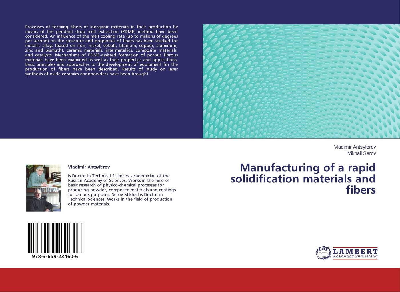 Vladimir Antsyferov and Mikhail Serov Manufacturing of a rapid solidification materials and fibers nicolas boyard heat transfer in polymer composite materials forming processes