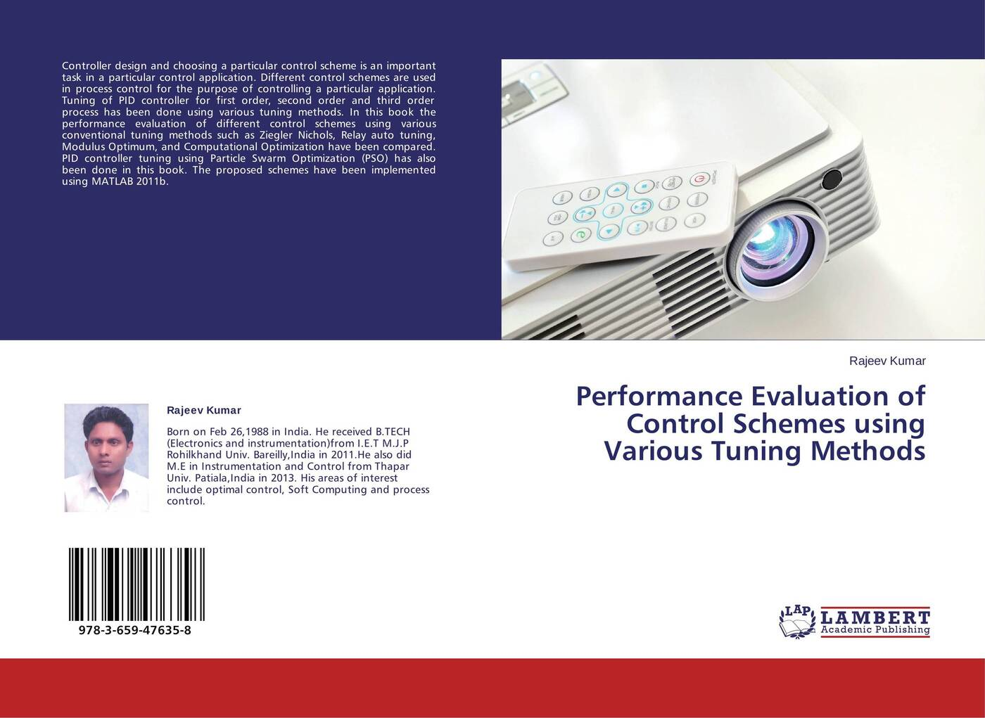 Rajeev Kumar Performance Evaluation of Control Schemes using Various Tuning Methods application of particle swarm optimization