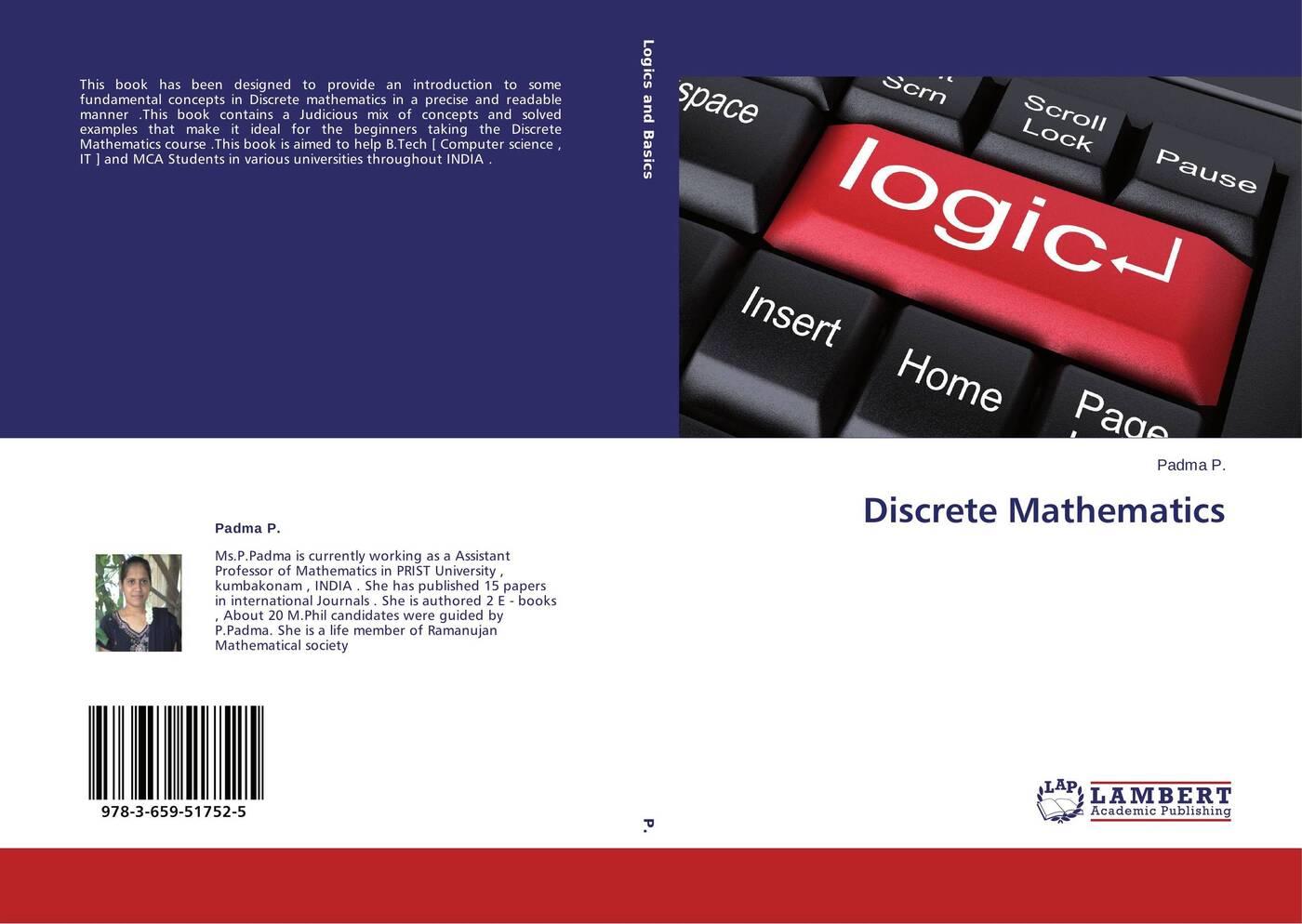 Padma P. Discrete Mathematics charalambos charalambides a discrete q distributions