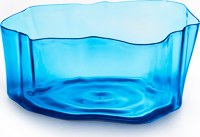 Органайзер Qualy Flow, маленький, голубой