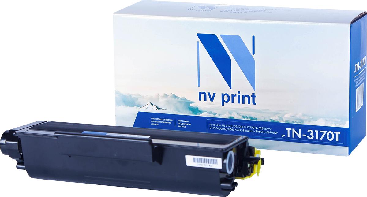 Тонер-картридж NV Print TN-3170T, черный, для лазерного принтера