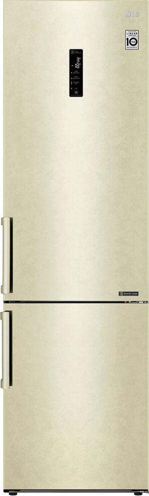 Холодильник LG GA-B509BEDZ, бежевый