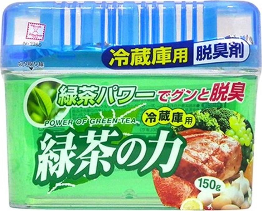Поглотитель неприятных запахов для общего отделения холодильника с экстрактом зеленого чая, 150 г