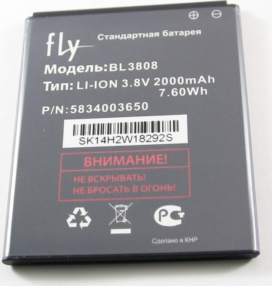 Фото - Аккумулятор Fly IQ456 (BL3808) аккумулятор