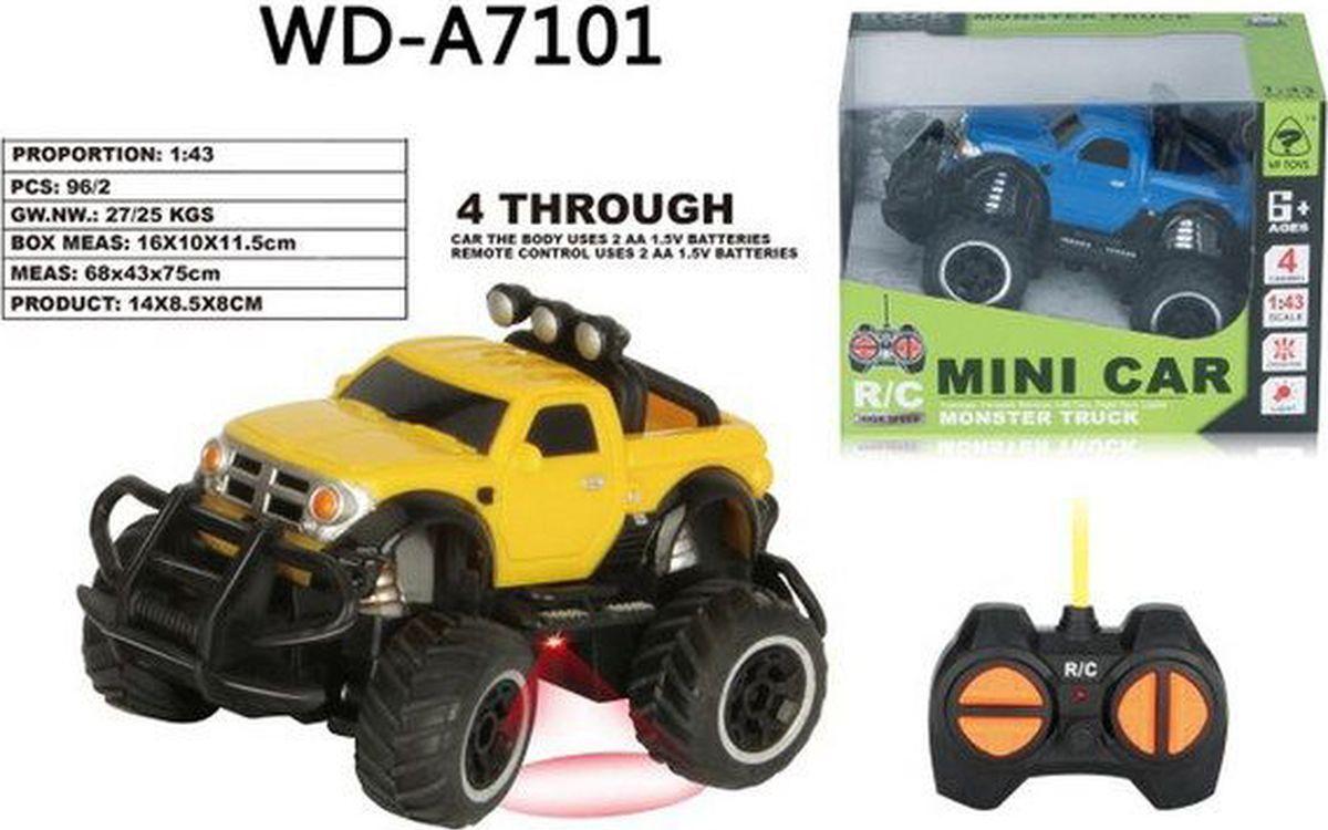 Машина радиоуправляемая Junfa Toys Монстр, 6146B