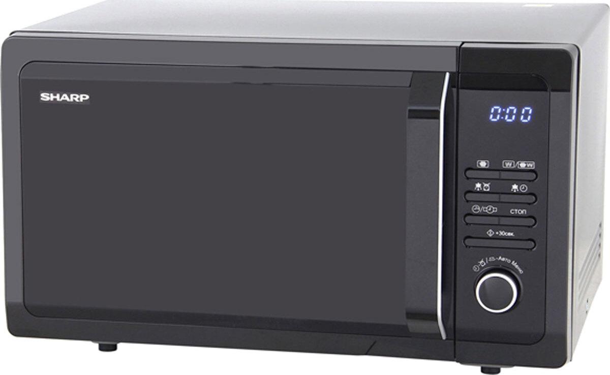 Микроволновая печь Sharp R7852RK, черный