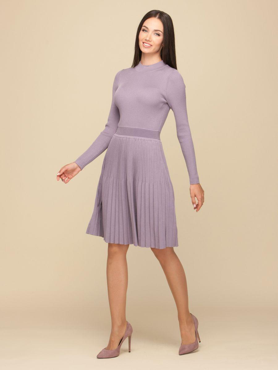 платье в складку до колен фото малахов