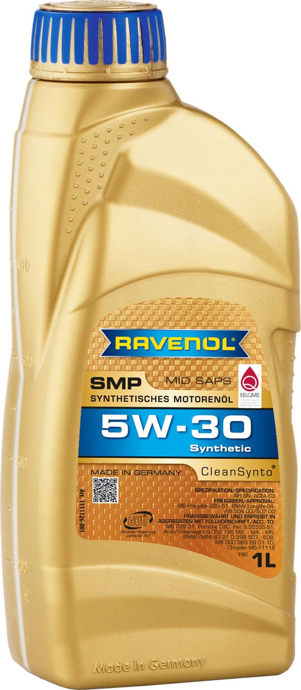 Моторное масло RAVENOL SMP SAE 5W-30 (1л)