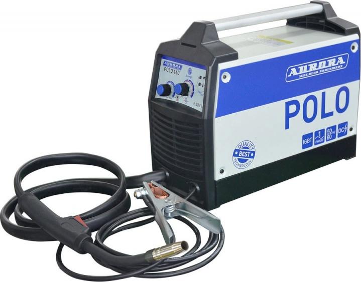 Синергетический инверторный сварочный полуавтомат Aurora POLO 160 (4 Квт)