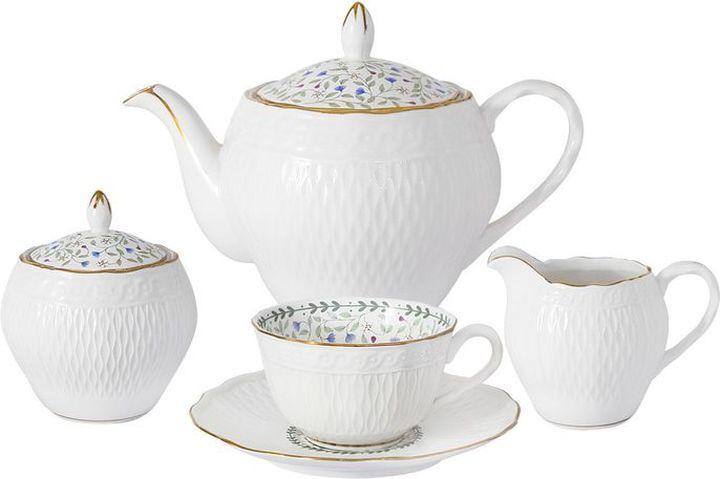 Сервиз чайный Colombo Грация, C2-TS/15-K2126, на 6 персон, 15 предметов