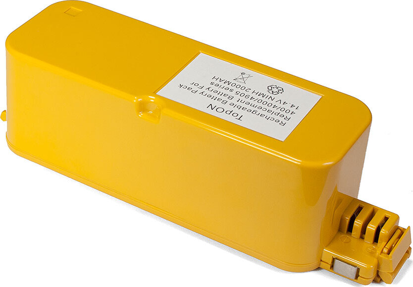 Аккумулятор для робота-пылесоса iRobot Roomba 400, 4000 Discovery, Dirt Dog, Create, FloorVac 400 Series. 14.4V 2000mAh Ni-MH. PN: 4905, 4978, 17373.