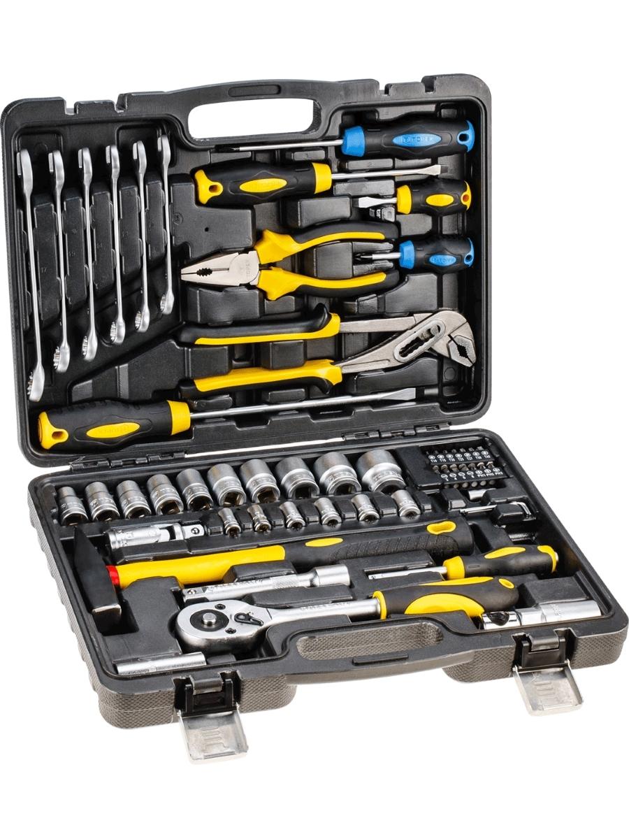 Набор инструментов (56 предметов) Topex 38D224