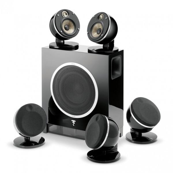Комплекты акустики Focal Pack Dome 5.1 Flax & Sub Air black