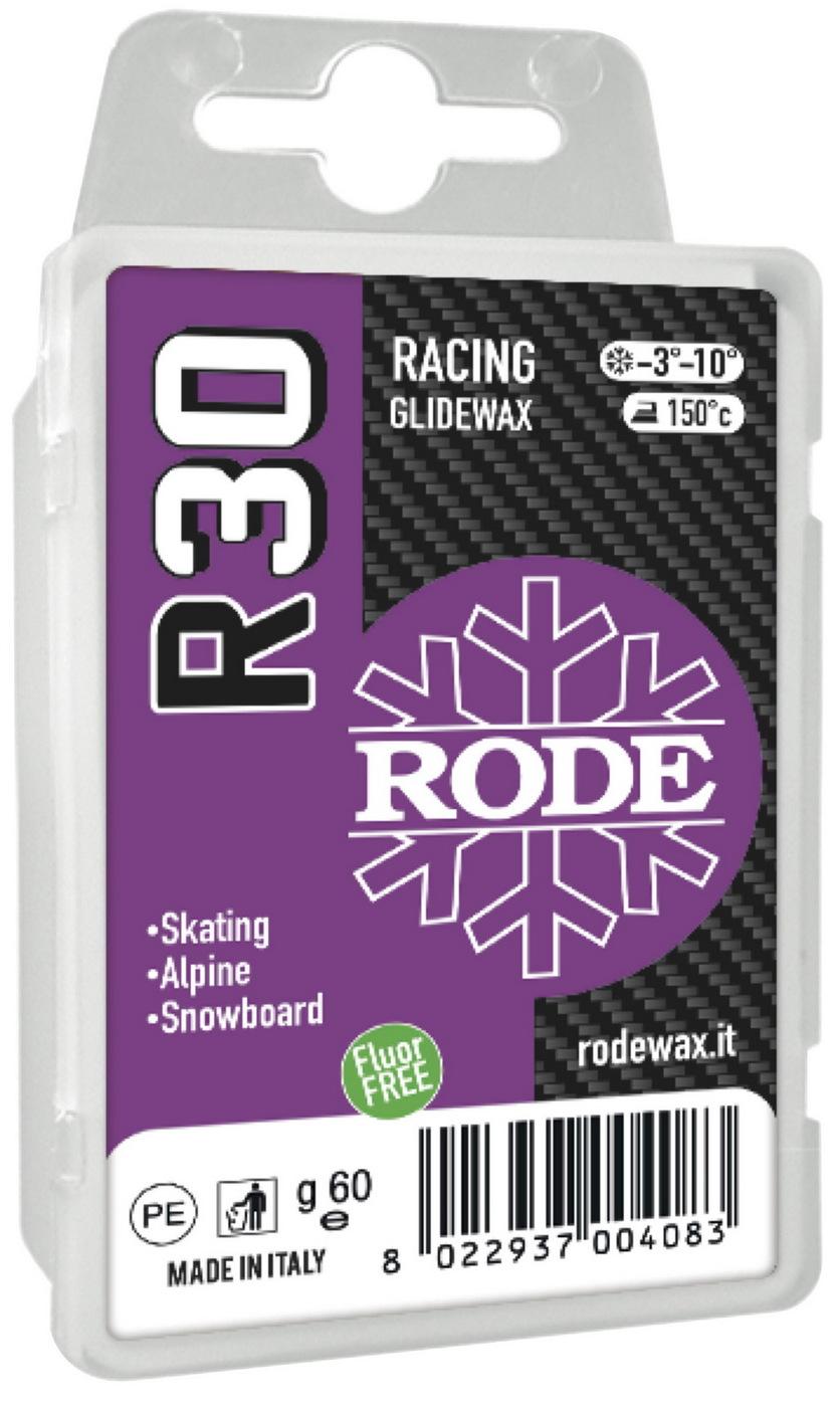 Парафин Rode R30 Racing Glider Violet, -3°… -10°С, R30-60, фиолетовый, 60 г