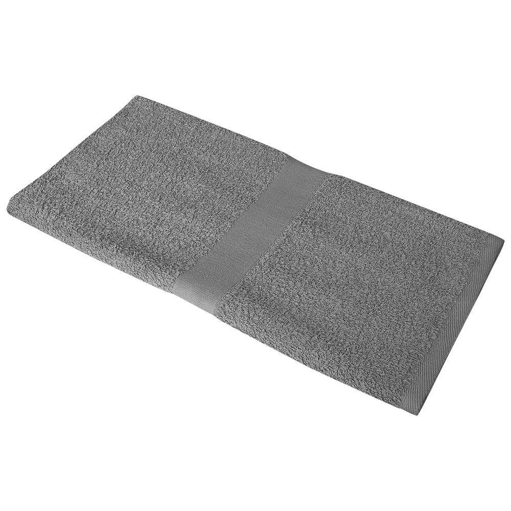 Полотенце махровое Soft Me Medium, серое