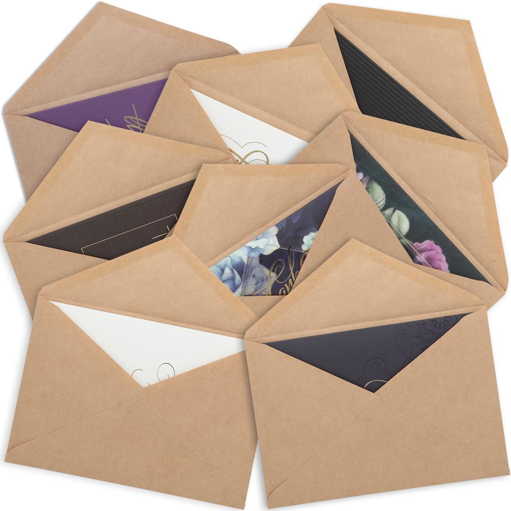 одна наборы конвертов и открыток форме жалюзи стали