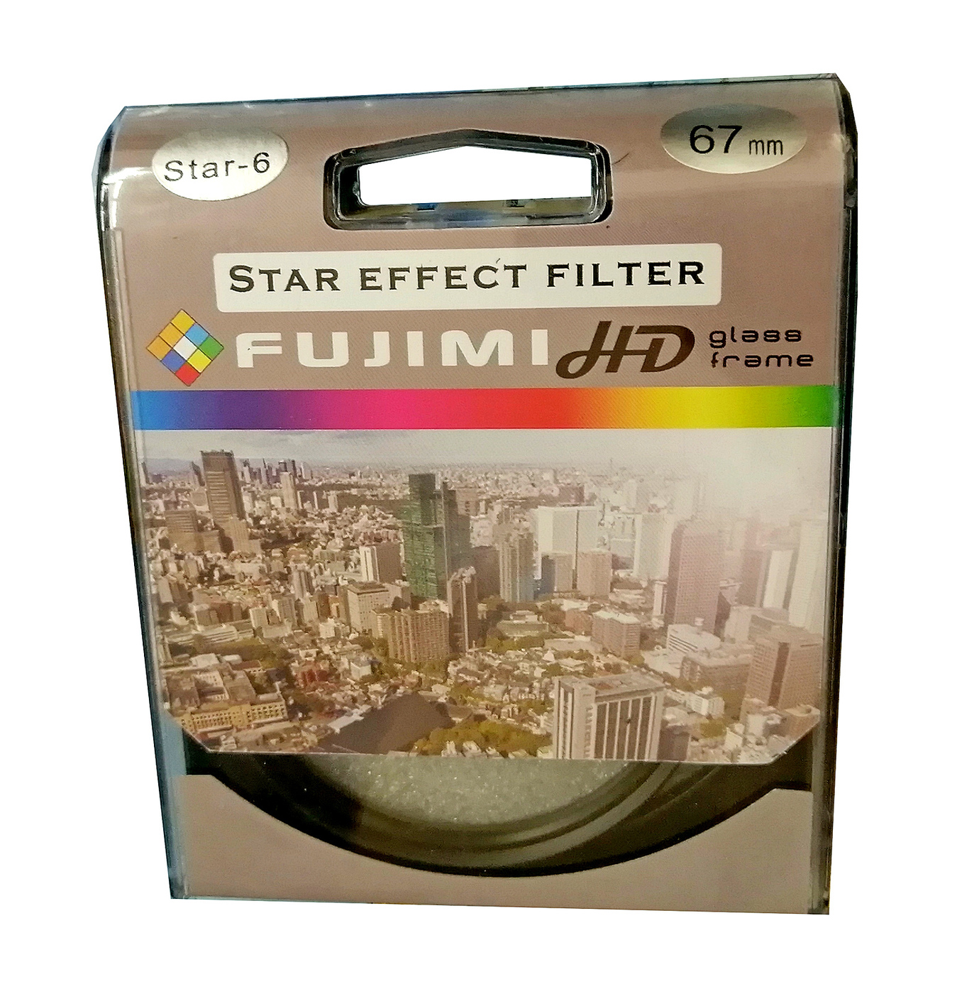 Светофильтр Fujimi Star-6 EFFECT dHD 67мм