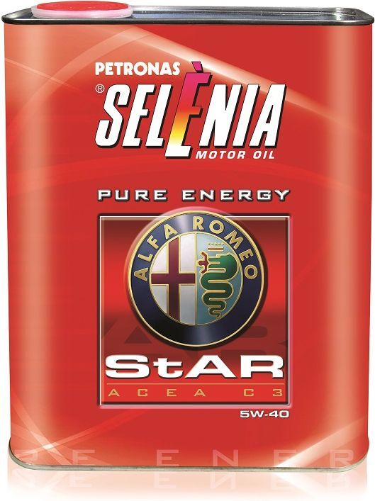 Моторное масло Selenia Star, синтетическое, 5W-40, SM, 2 л