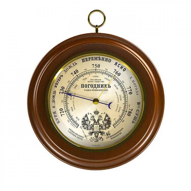 Деревянный барометр Rst 05330