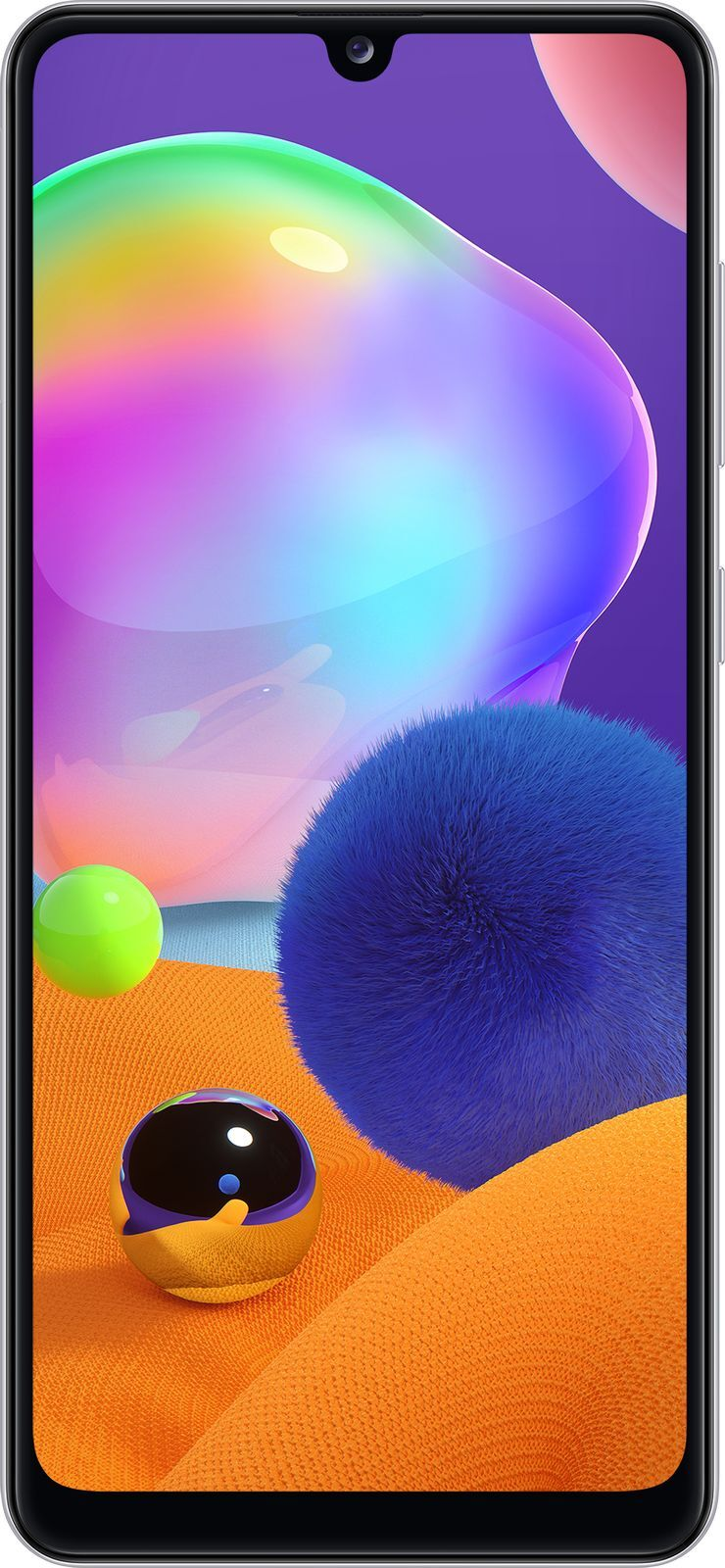 смартфон samsung galaxy a31 4/64gb, белый