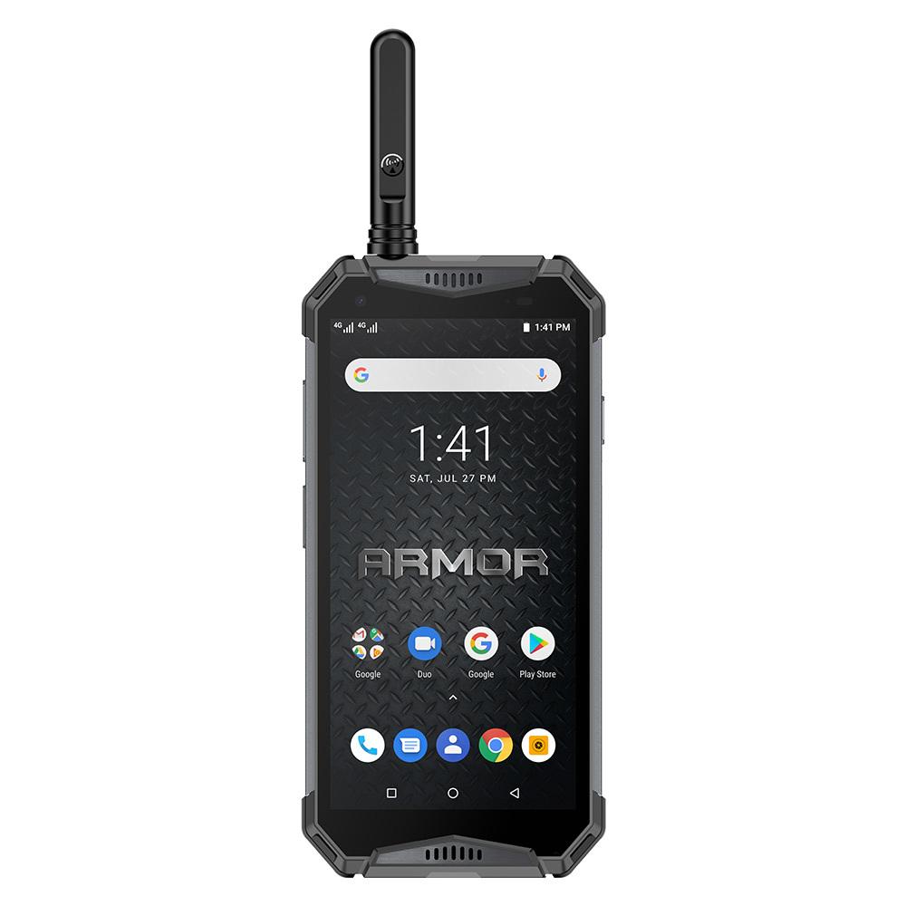 """Ulefone Armor 3WT IP68 Прочный Android 9.0 5.7 """"Helio P70 6G + 64G 10300mAh 4G 21MP NFC Мобильный телефон - черный"""
