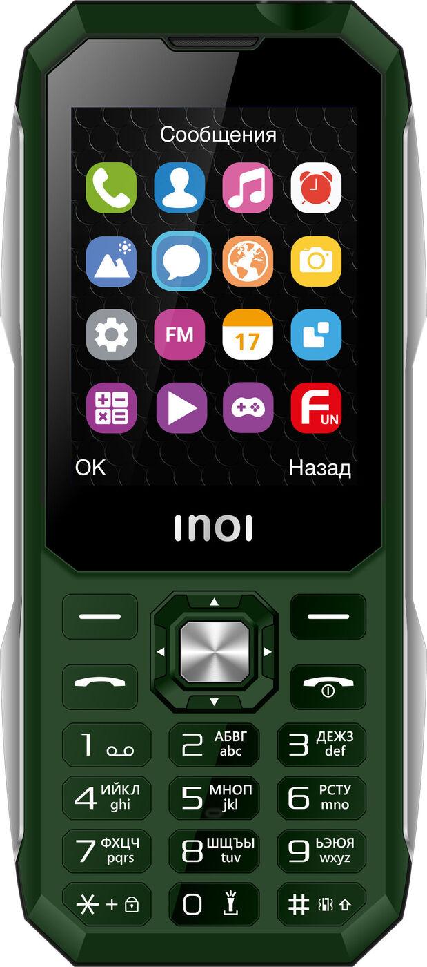 мобильный телефон inoi 244z, хаки