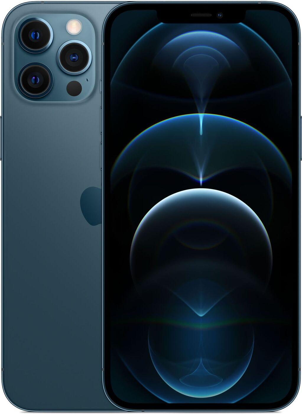 смартфон apple iphone 12 pro max 256gb blue уцененный товар (№19)